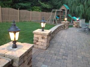 Outdoor patio lighting by Rob Robinson Electric