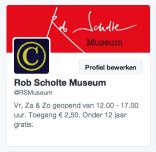 Rob Scholte Museum op Twitter