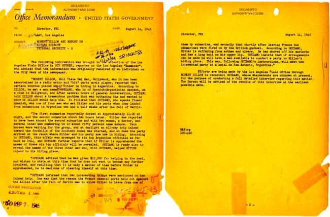 Office Memorandum United States Government, August 14, 1945