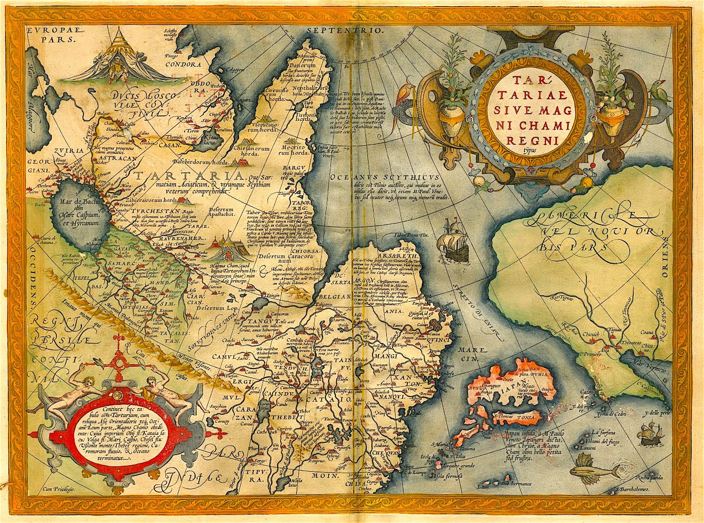Ortelius – Tartariae sive Magni Chami Regni