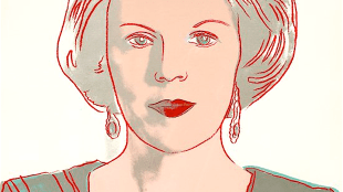 Andy Warhol - Queen Beatrix of The Netherlands