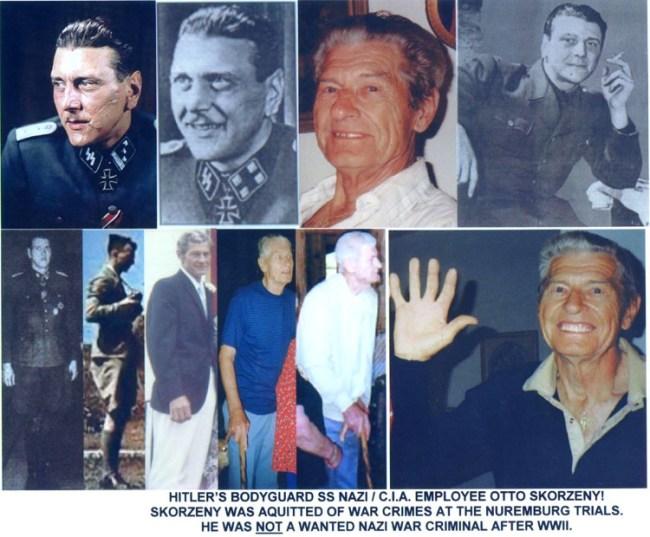 Hitler's bodyguard and CIA employee Otto Skorzeni