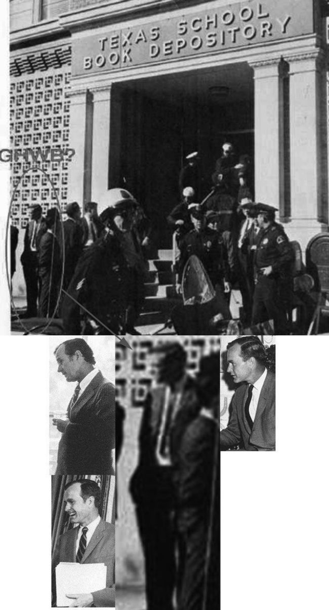 G.W. Bush in Deally plaza when JFK was gunned down 1 (foto Before It's News)
