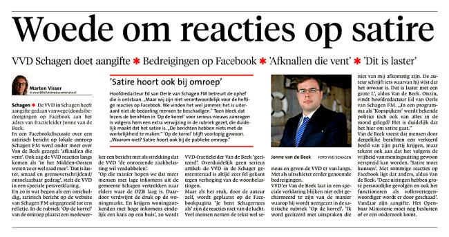 Schager Courant, 29 augustus 2018