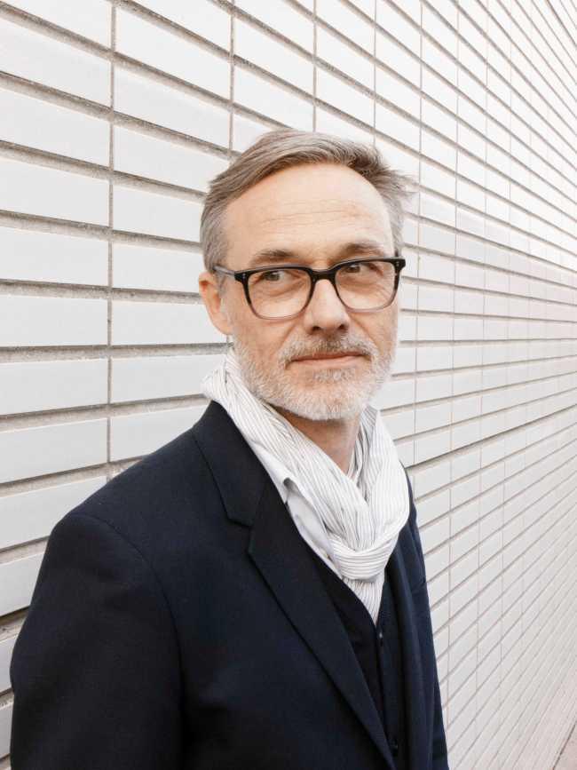 Curator Moritz Küng (foto Gerrit Rietveld Academie)