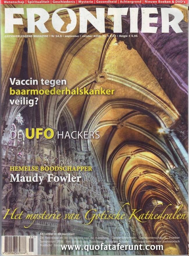 Frontier   grensverleggend magazine   Nr. 14-15   september   oktober 2008