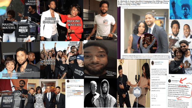 Jussie Smollet collage
