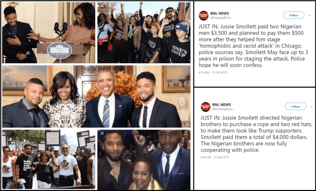 Jussie and the Obama's