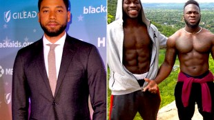 Smollett and the Hoax Attackers (foto Before It's News)
