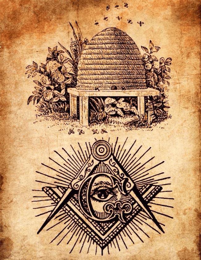 The Beehive as a Masonic symbol