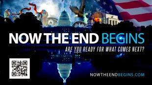 NOW THE END BEGINS | ARE YOU READY FOR WHAT COMES NEXT (foto nowtheendbegins.com)