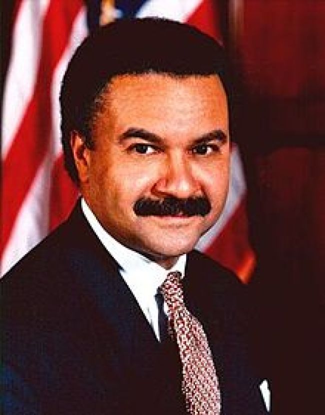 Ron Brown, US Sec of Commerce (foto The Tap)