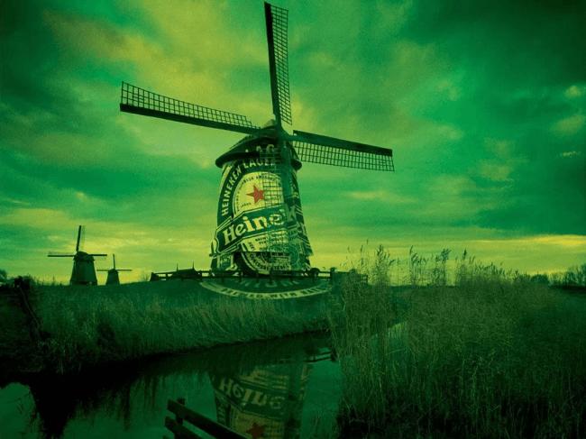 De molen van Heineken (foto de Bovenkamer)