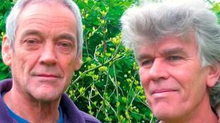 Gerben Hellinga & Hans Plomp (foto Uitgeverij Prometheus)