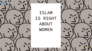 Islam is right about women (foto navyhato/black pigeon)