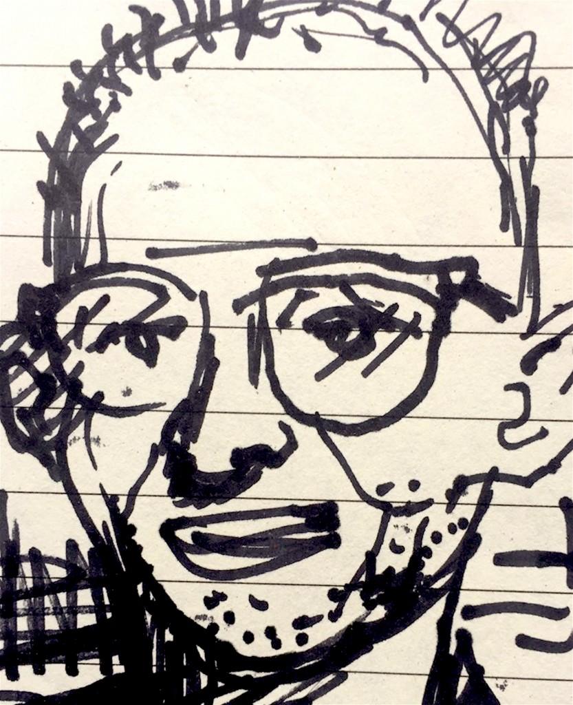 Peter Klashorst – Portret van Japie Holtzapffel