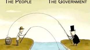 We kunnen een overheid missen als kiespijn (foto Niburu)