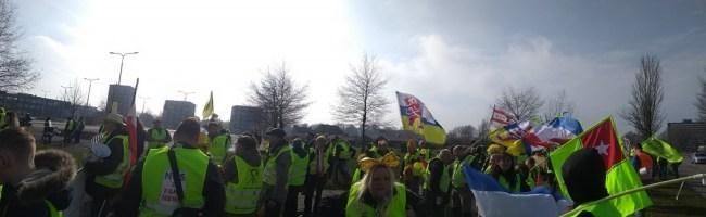 Leeuwarden landelijke mars (foto Olof van Doorn)