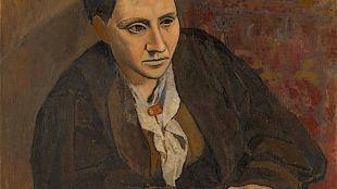 Pablo Picasso - Portrait of Gertrude Stein