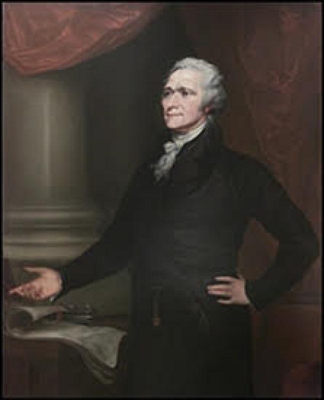 Alexander Hamilton 1755-1804
