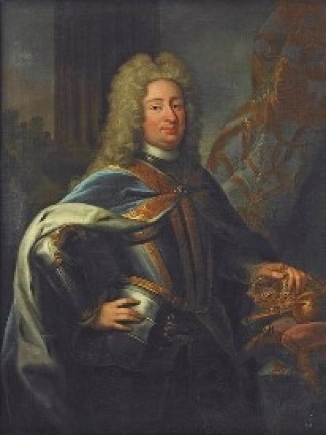 Frederick I of Sweden 1676-1751