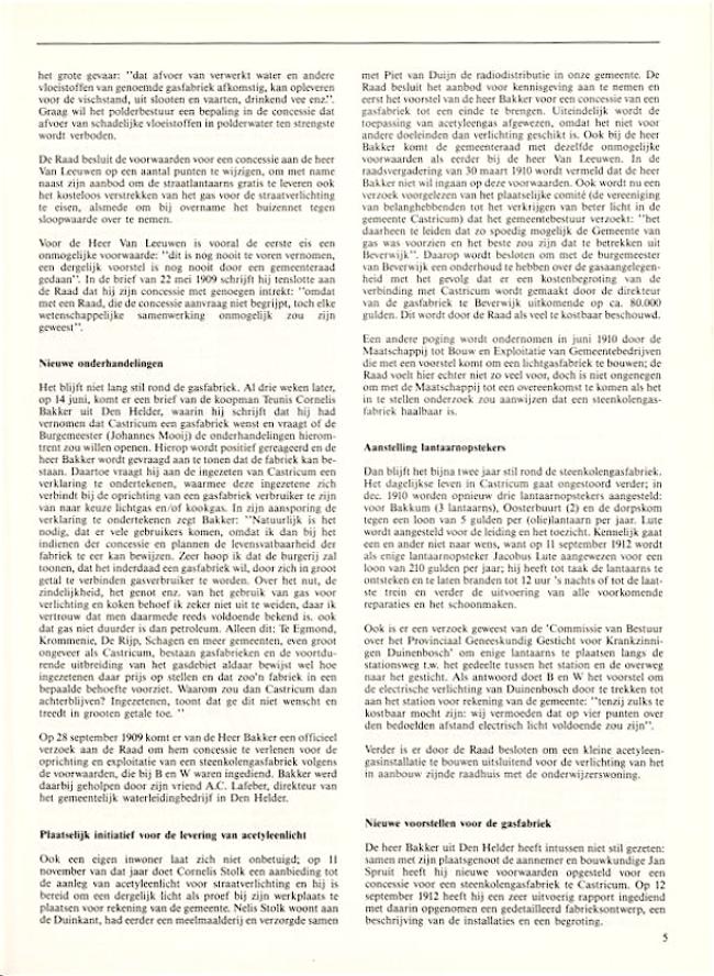 Jaarboek Oud Castricum | 1 november 1991 | pagina 05