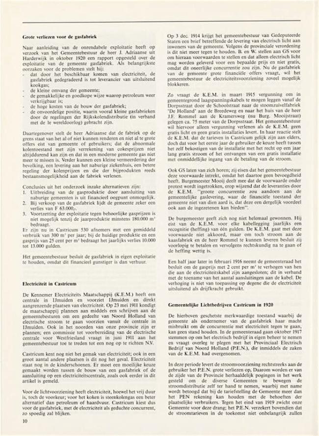 Jaarboek Oud Castricum | 1 november 1991 | pagina 10