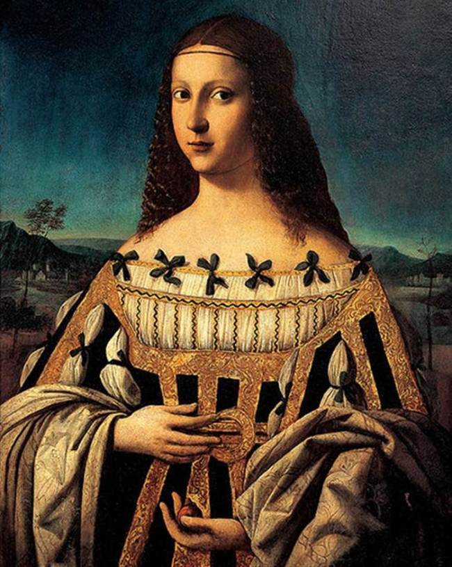 Lucrezia Borgia 1480 - 1519