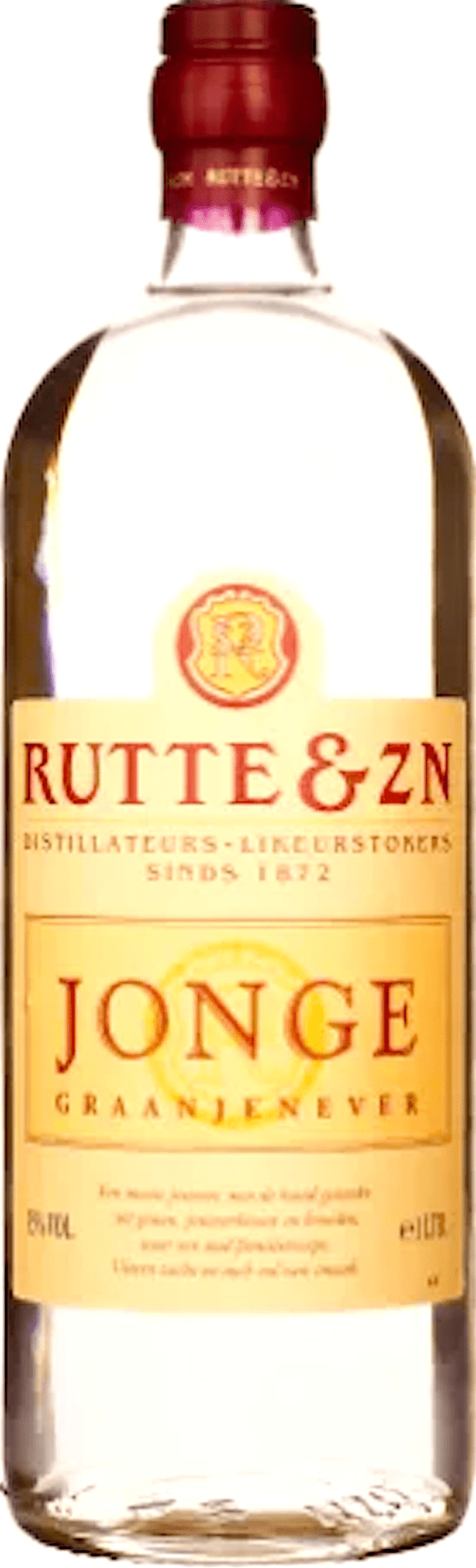 De Jonge jenever van Rutte & Zn (foto Drankdozijn)