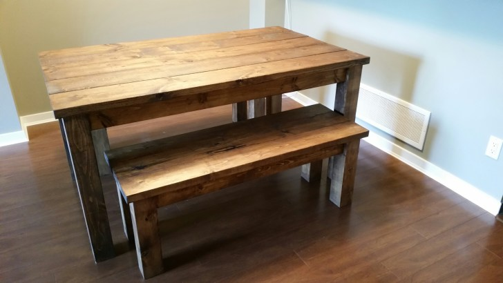 benches dining tables kitchen table bench Provincial Pine Table and Bench set1