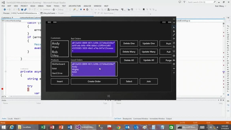 SQLiteOnWindows