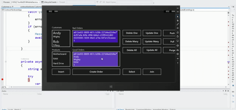 TechEd North America 2014: Empower your Demanding Mobile Line of Business Apps with SQLite and Offline Data Sync on Windows 8.1
