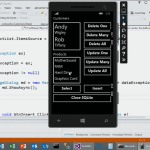 Windows Phone SQLite
