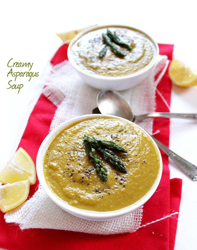 Creamy Asparagus Soup - Robust Recipes