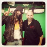 Rob Zombie and Dave Attell from Daves Old Porn show on Showtime