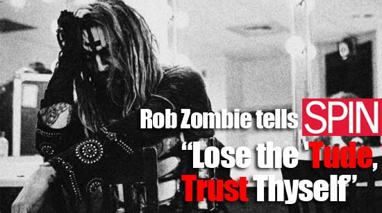 Spin Magazine interviews Rob Zombie