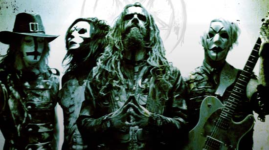 Rob Zombie, Piggy D, John 5 and Ginger Fish