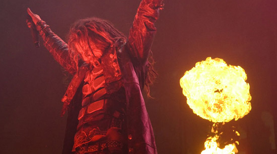 Rob Zombie.  Image by Nick Caito