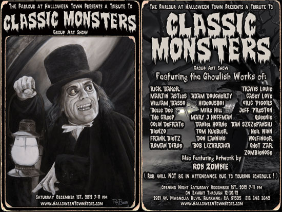 Classic Monsters Flyer