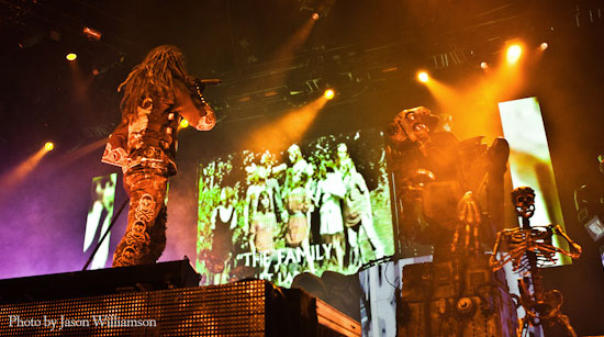 Rob Zombie photo by Jason Williamson