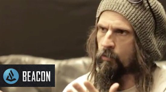 Beacon Audio interviews Rob Zombie for their Beacon Moment Blog
