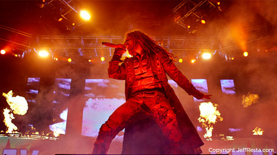 Rob Zombie photo by Jeff Resta