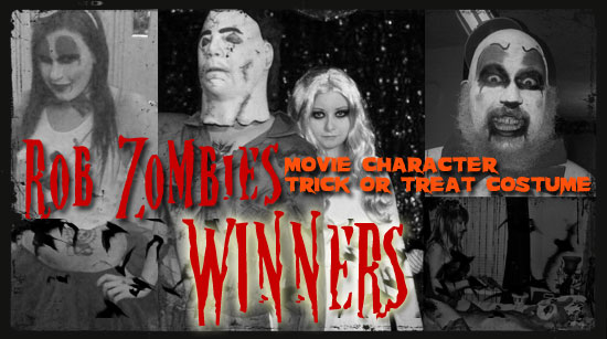 Rob Zombie costume contest winners announced