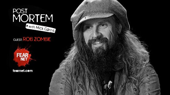 Rob Zombie Interview Fear Net Post Mortem Mick Garris
