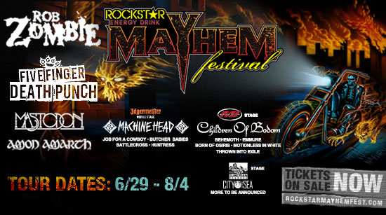 Mayhem Tickets on sale now