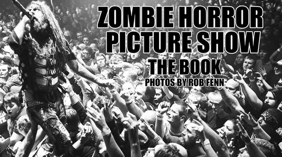 Rob Fenn Rob Zombie photo book