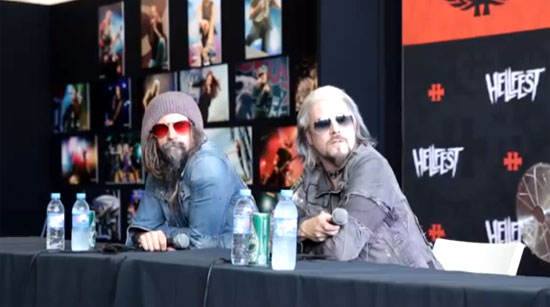 Rob Zombie John 5 Hellfest Press Conference