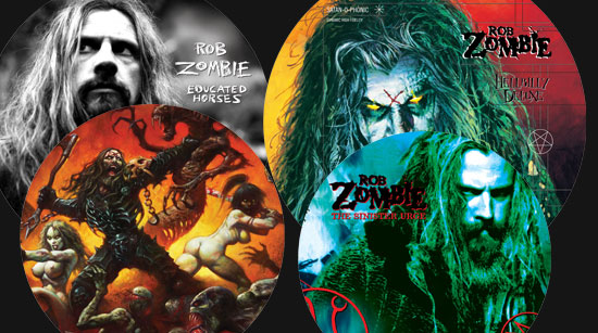 Rob Zombie Picture Disc