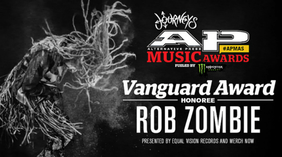 rob Zombie Vanguard Award