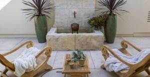 fountain patio